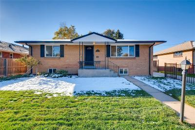 Denver Single Family Home Active: 2536 East Mexico Avenue