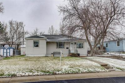 Thornton Single Family Home Under Contract: 1600 Ruth Drive