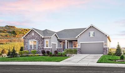 Castle Rock CO Single Family Home Active: $899,950