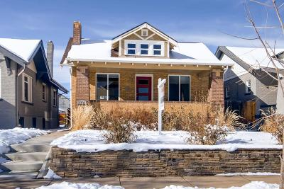 Denver Single Family Home Under Contract: 3321 North Race Street