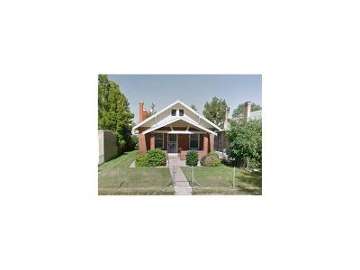 Denver Single Family Home Active: 1479 South Washington Street