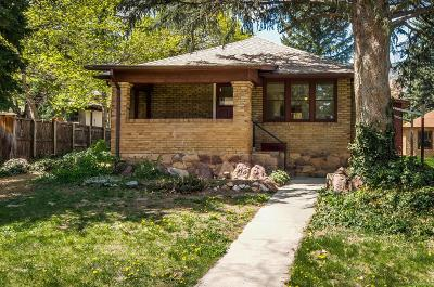 Boulder Single Family Home Under Contract: 747 12th Street