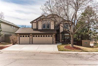 Castle Rock Single Family Home Under Contract: 5041 North Blazingstar Trail