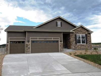 Castle Rock Single Family Home Active: 5833 Flat Rock Court