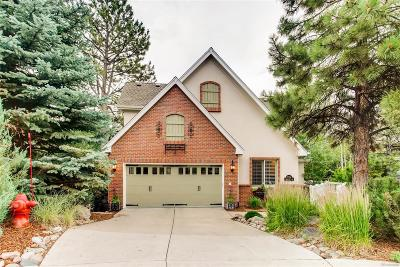 Castle Pines Single Family Home Under Contract: 7054 Timbercrest Way