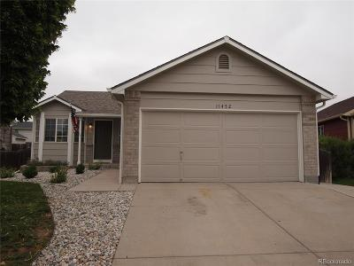 Commerce City Single Family Home Active: 11452 Lima Court