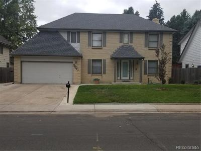 Aurora Single Family Home Active: 12290 East Vassar Drive