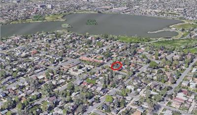 Denver Residential Lots & Land Active: 2461 Perry Street