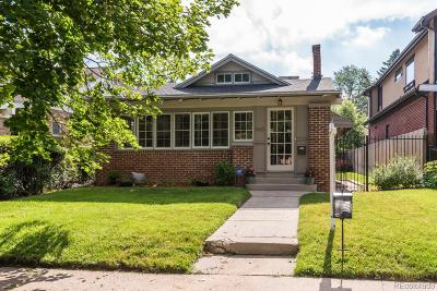Denver Single Family Home Under Contract: 960 South York Street