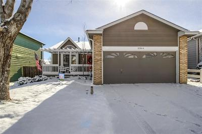 Thornton Single Family Home Under Contract: 5366 East 130th Place