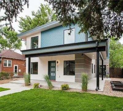 Denver Single Family Home Under Contract: 2670 Dahlia Street