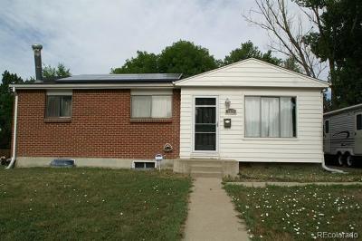 Denver Single Family Home Active: 7829 Florado Street