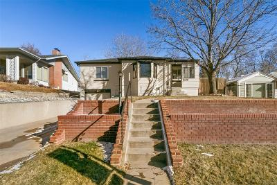 Denver Single Family Home Active: 1630 South Saint Paul Street