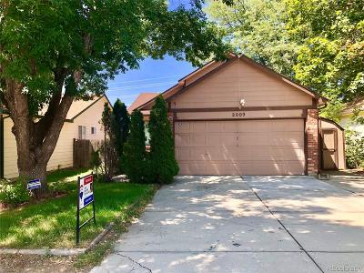 Boulder County Single Family Home Active: 2009 Mount Sneffels Street