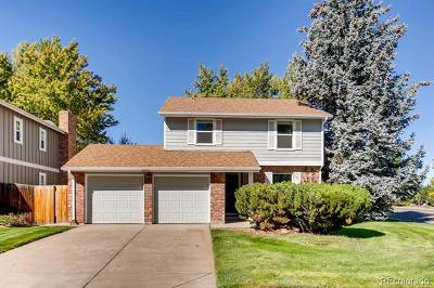 Centennial CO Single Family Home Active: $574,900