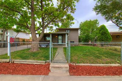 Commerce City Single Family Home Under Contract: 6741 Albion Street