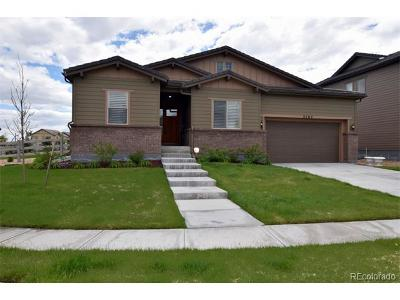 Broomfield Single Family Home Active: 3705 Yale Drive
