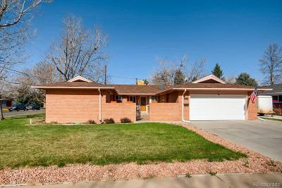 Arvada Single Family Home Active: 6005 Nelson Street