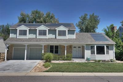 Littleton Single Family Home Under Contract: 10703 West Turtle Mountain