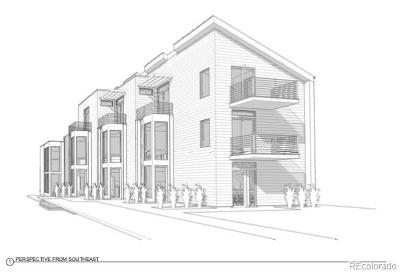 Denver Residential Lots & Land Active: 2151 South Acoma Street