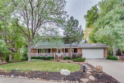 Arvada Single Family Home Under Contract: 10650 West 74th Place