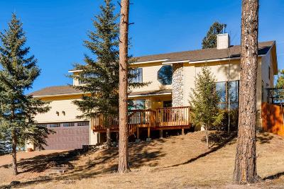 Woodland Park Single Family Home Under Contract: 600 West Lovell Gulch Road