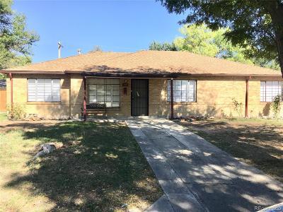 Aurora, Denver Single Family Home Active: 920 Racine Street