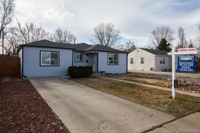 Arvada Single Family Home Under Contract: 5265 Dover Street