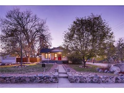 Denver Single Family Home Active: 5395 Grove Street