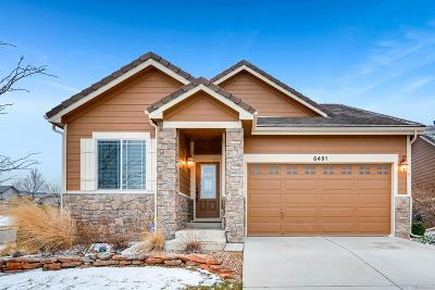 Arvada Single Family Home Under Contract: 6491 Umber Circle