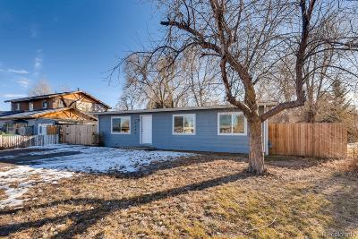 Denver Single Family Home Active: 2240 West 56th Place