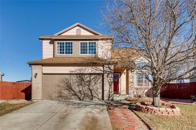 Denver Single Family Home Active: 4441 Perth Circle