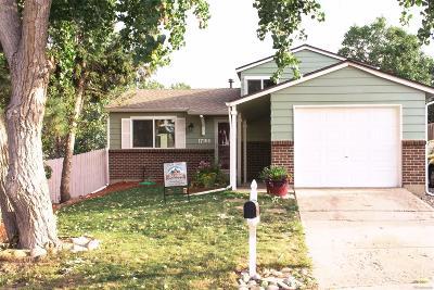 Aurora CO Single Family Home Active: $309,000
