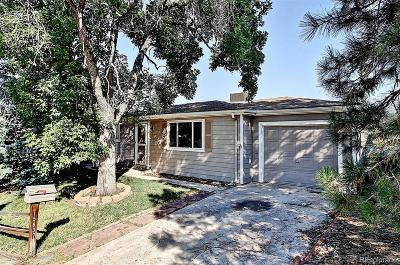 Golden Single Family Home Under Contract: 15837 West 3rd Avenue