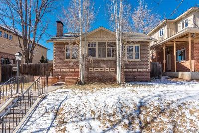 Denver Single Family Home Active: 1375 South Elizabeth Street