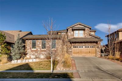 Highlands Ranch Single Family Home Active: 10694 Sundial Rim Road