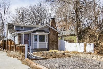 Denver Single Family Home Under Contract: 59 Julian Street