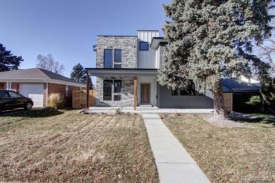 Denver Single Family Home Active: 1221 South Harrison Street