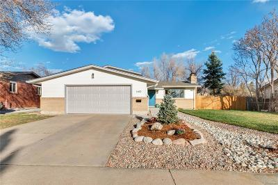 Longmont Single Family Home Active: 1600 Mount Evans Drive