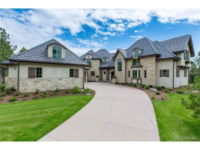 Castle Rock CO Single Family Home Active: $2,595,000