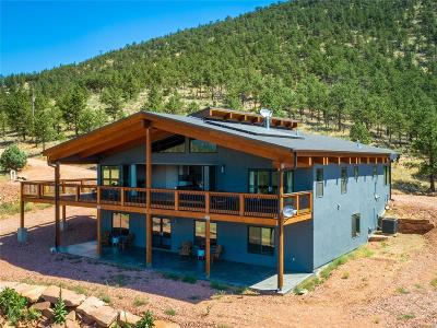 Lyons Single Family Home Under Contract: 1136 Steamboat Valley Road