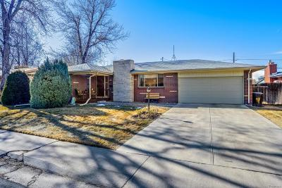 Denver Single Family Home Under Contract: 1971 South Magnolia Street
