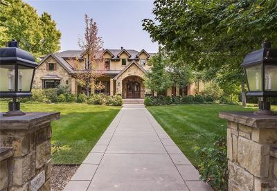 Cherry Hills Village Single Family Home Active: 4710 South Downing Street