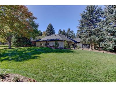Littleton Single Family Home Under Contract: 1 Village Court