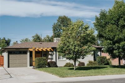 Wheat Ridge Single Family Home Under Contract: 3925 Ingalls Street