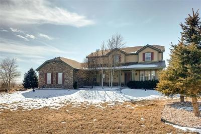 Arapahoe County Single Family Home Active: 49400 Antelope Drive