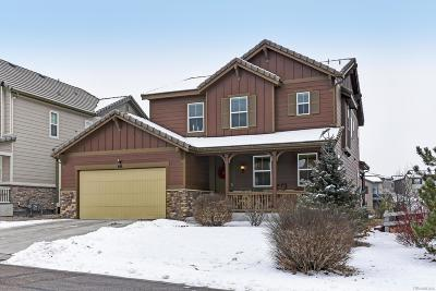 Highlands Ranch CO Single Family Home Under Contract: $650,000