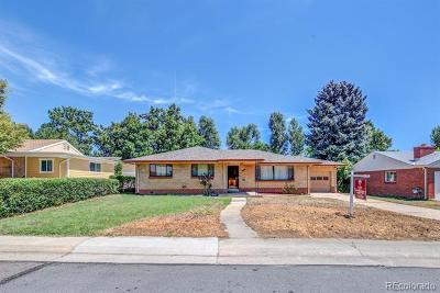 Wheat Ridge Single Family Home Active: 2800 Reed Street