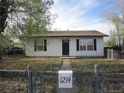 Colorado Springs Single Family Home Active: 1214 Harrison Road