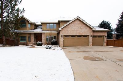 Centennial Single Family Home Under Contract: 16355 East Dorado Avenue